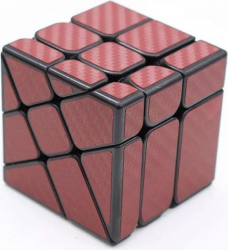 Carbon Fibre Windmill Mirrior Cube red